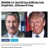 ECONOMY: 10,000 Steel Jobs
