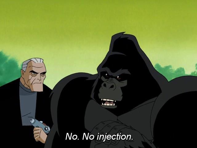 ape. .. And so, HaramBat was born. ape And so HaramBat was born